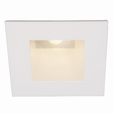 LEDme Square 2.5 LED Recessed Trim Finish: White
