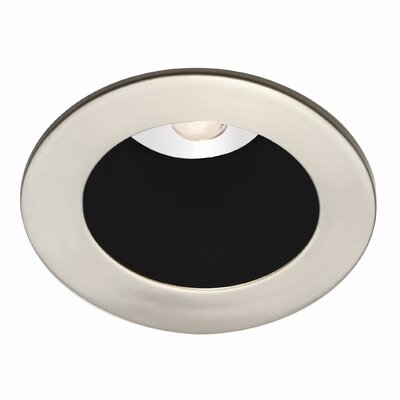 Round 2.88 LED  Recessed Trim Finish: Black / Brushed Nickel