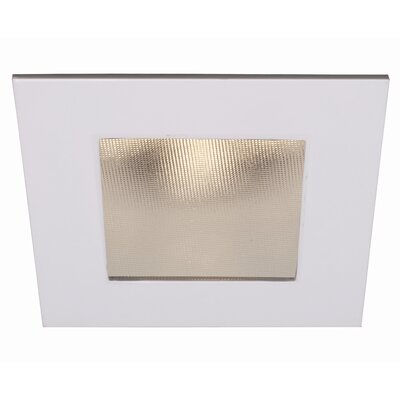 LEDme Square 2.75 LED Recessed Trim Finish: Chrome