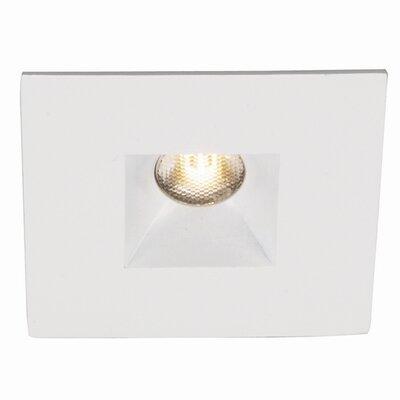 LEDme Square Open 1.25 LED Recessed Lighting Kit Bulb: 4000K