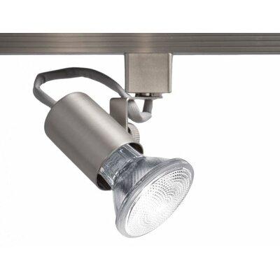1 Lamp Exposed Luminaire Line Voltage Track Head Track Type: Juno Series, Finish: Brushed Nickel