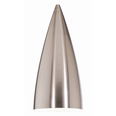 Industrial Pendant Shade Finish: Brushed Nickel