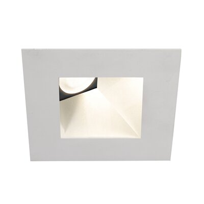 Downlight Wall Washer Square 2.88 LED Recessed Trim Finish: White, Bulb: 3000K