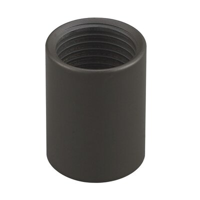 Single Circuit Downrod Coupler Finish: Black