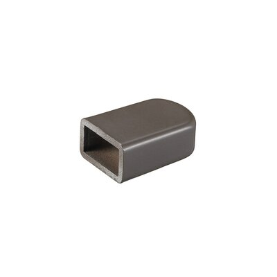 End Cap for Monorail Track Systems (Set of 3) Finish: Bronze