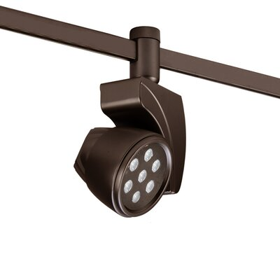 Reflex 7-Light 17W Track Head Finish: Dark Bronze