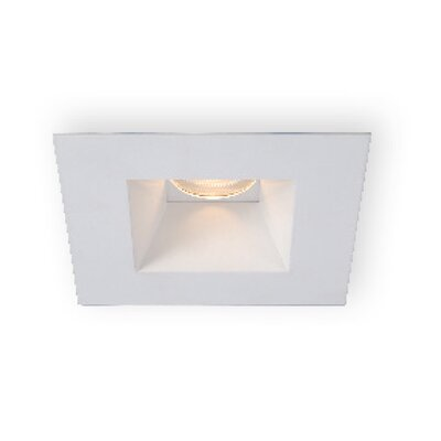 Tesla Square Shower 3.5 LED Recessed Trim Finish: Brushed Nickel