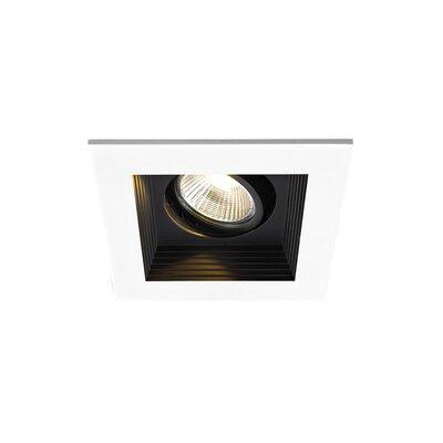 Remodel 1-Light Mini LED Recessed Lighting Kit Finish: Black