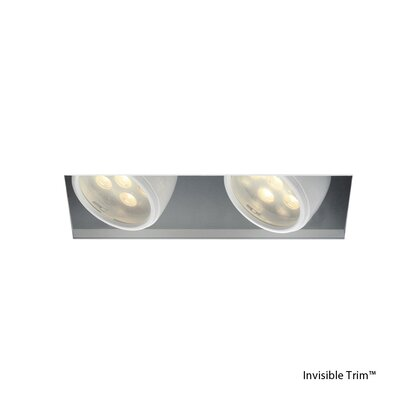 LEDme Multiple Spot 2-Light LED Recessed Multi-Spotlight Lens Degree: Flood