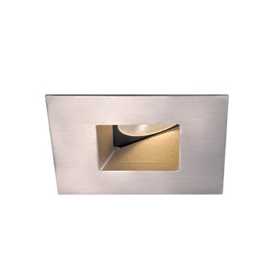 Tesla Adjustable 45 Degree 2 LED Recessed Trim Finish: Brushed Nickel