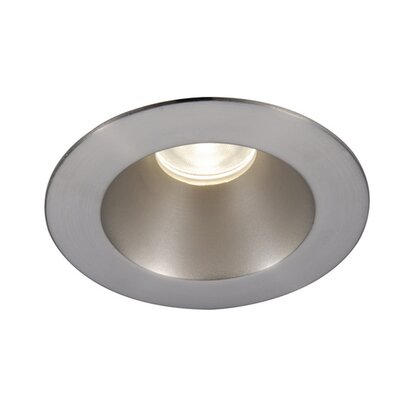 Tesla Shower Round 3 LED Recessed Trim Finish: Brushed Nickel