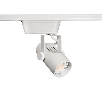 4-Light 6.4W 3000K LED Low Voltage Track Head Finish: White, Track Collection: Lightolier Series