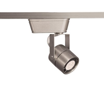1-Light 3000K 80 CRI LED Low Track Head Finish: Brushed Nickel, Track Collection: Juno Series