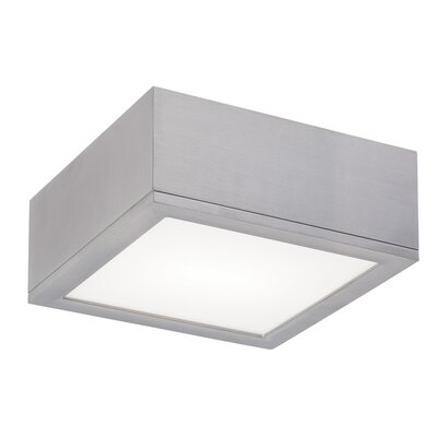 Myrtle 1-Light LED Flush Mount Finish: Graphite, Size: Large