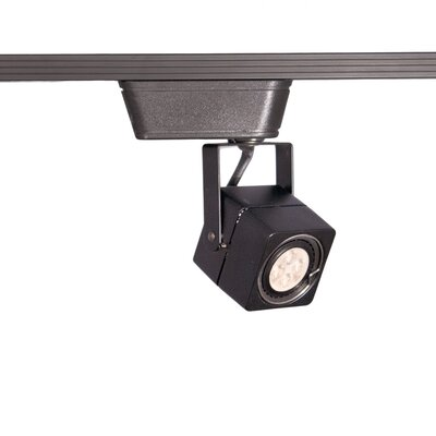LED 1-Light Low Voltage Track Head Finish: Black, Track Collection: Juno Series