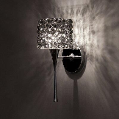 Mirabel LED Monopoint Mini Pendant Finish: Chrome