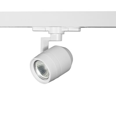 Paloma 1-Light 12W 3500K LED Track Head Lens Degree: Spot, Finish: White