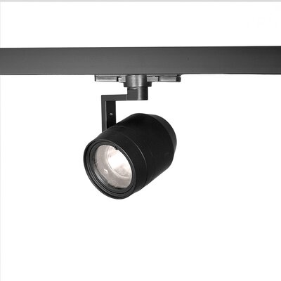 1-Light 23W 3000K LED Paloma Track Head Lens Degree: Flood, Finish: White