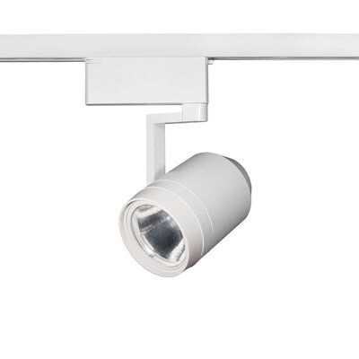 Paloma 1-Light 28W LED Track Head Lens Degree: Spot, Finish: White