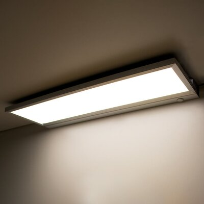 LINE� LED Under Cabinet Bar Light Size: 4.88 H x 12 W x 0.63 D