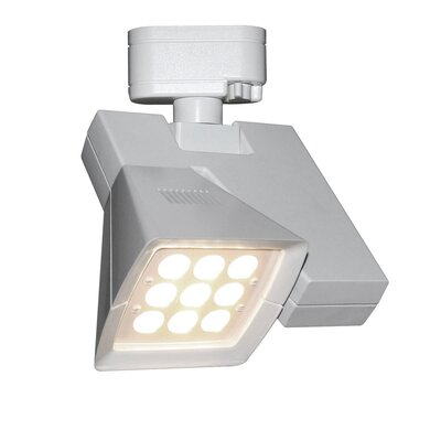 Logos 9-Light 23W 3500K LED Track Head Track Collection: Halo Series, Finish: White