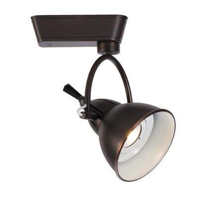 Halo Series 1-Light Cartier Track Luminaire Track Head Color Temperature: 4000K, Finish: Antique Bronze, Track Type: Lightolier Series