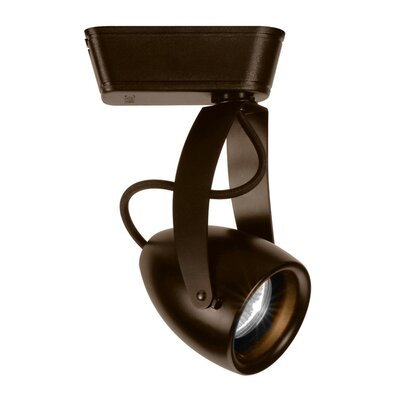 Impulse 1-Light 14W 3500K LEDme Track Head Lens Degree: Spot, Finish: Dark Bronze