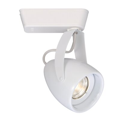 LEDme Impulse H Track Luminaire Flood Finish: White, Lens Degree: Spot