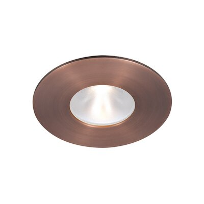Tesla 90 CRI 2 LED Recessed Trim Finish: White