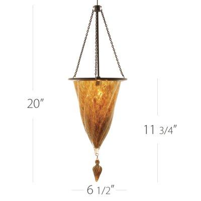 Rococo 1-Light Monopoint Pendant