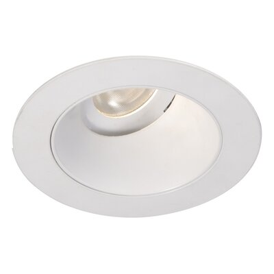 Tesla Adjustable 3000K Round 3.5 LED Recessed Trim Finish: Specular Black