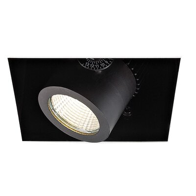 1-Light Precision Module LED Recessed Housing Lens Degree: Spot