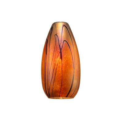 Willow Monopoint 1-Light Mini Pendant Finish: Dark Bronze