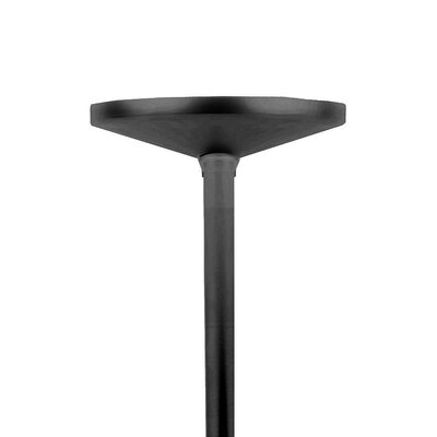 W Track T-Bar Pendant Finish: Black, Size: 48 W