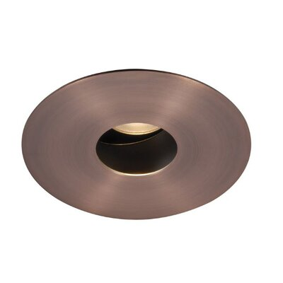 PinHole Downlight Round 1.88 LED Recessed Trim Bulb: 4000K, Finish: Copper Bronze