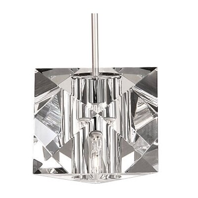 Prisma Pendant Finish: Brushed Nickel