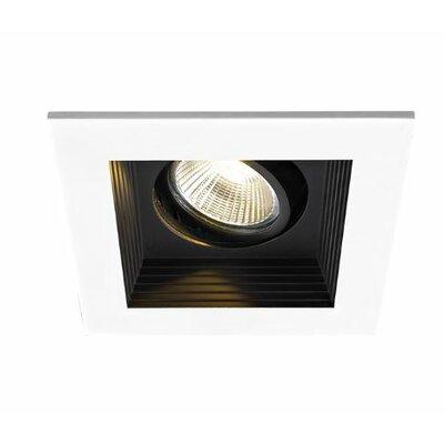 1-Light 8.36 LED Recessed Lighting Kit Finish: Black