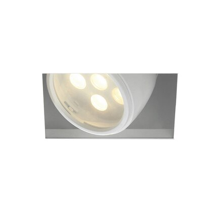 LEDme� 1-Light LED Recessed Housing Lens Degree: Spot