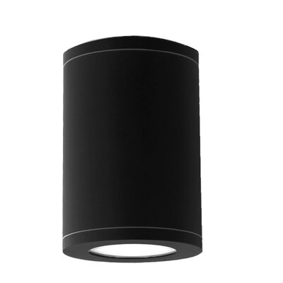 Tube under Cabinet LED Flush Mount Finish: Black