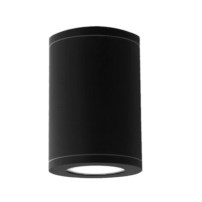 Tube 2700K Flush Mount Finish: Black