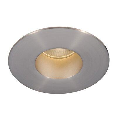 Downlight Shower Round 2 LED Recessed Trim Finish: Brushed Nickel, Bulb: 4000K
