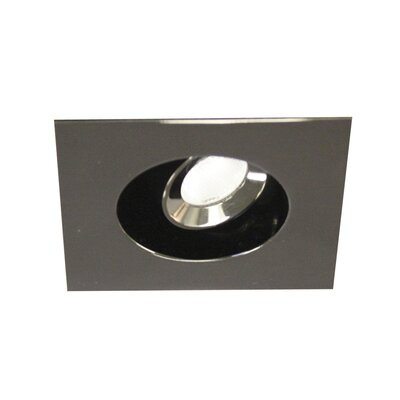 LEDme Mini Recessed Downlights Finish: Gun Metal, Bulb Color: Cool White