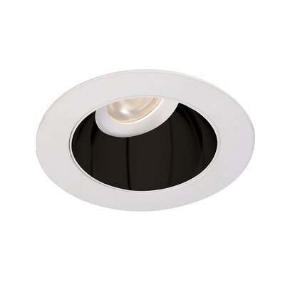 Tesla 3.5 Recessed Trim Finish: Specular Black/White