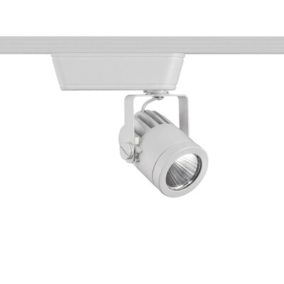 Precision 1-Light LED 14.5W 4000K Low Voltage Track Head Finish: White, Track Collection: The Lightolier Series, Lens Degree: Spot