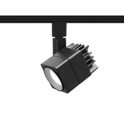 Summit 1-Light CLED 15W Beamshift Line Voltage Cube Track Head Finish: Black, Track Series: Juno Series