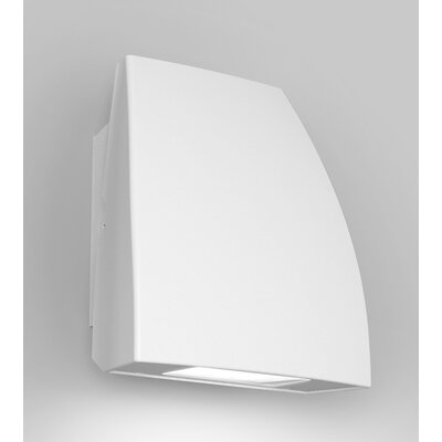 Endurance Fin Energy Star Outdoor/Indoor Wall Pack 19W 5000K e Finish: Architectural White