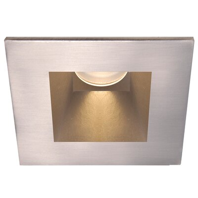 Tesla 2.88 Recessed Trim Finish: Brushed Nickel