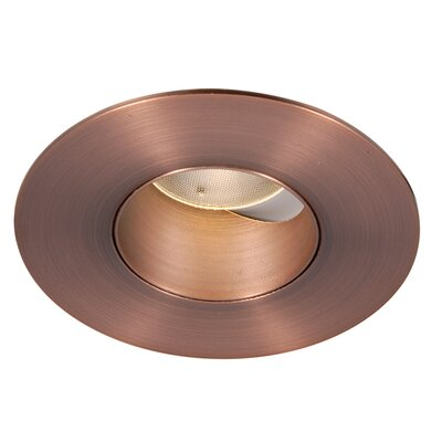Tesla 2 LED Recessed Trim Finish: Copper Bronze