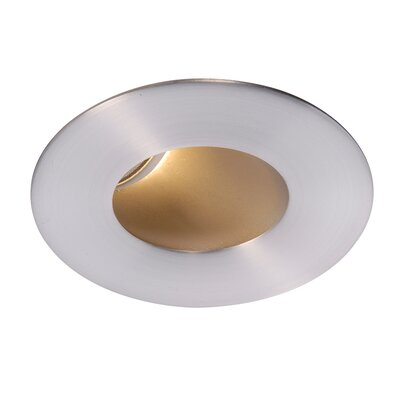 Tesla Pro High Output 2 Recessed Trim Finish: Brushed Nickel