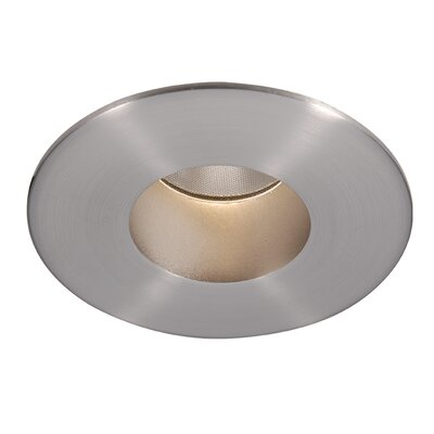 Tesla 2 Recessed Trim Finish: Brushed Nickel